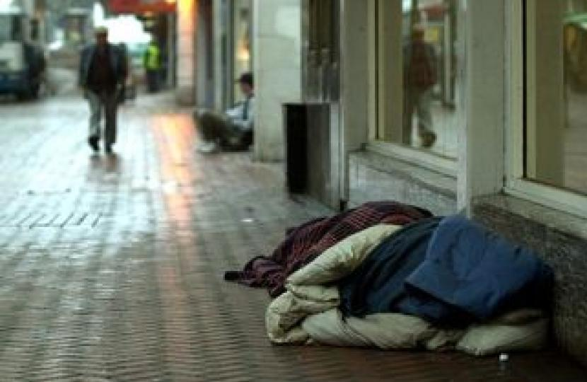 Labour cannot be trusted on rough sleeping