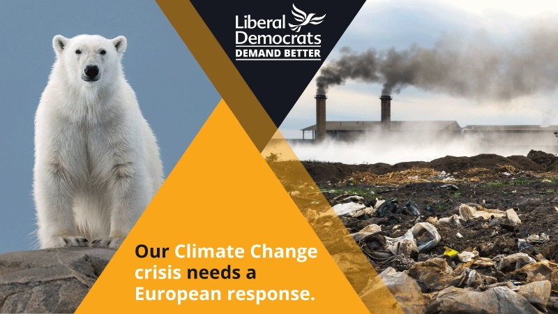 Climate Change crisis demands European response