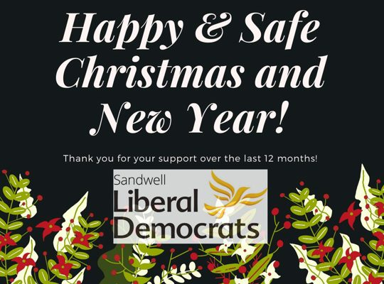 Christmas greetings to our friends and supporters