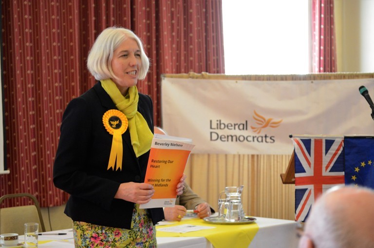 Beverley Nielsen launches manifesto and promises radical change