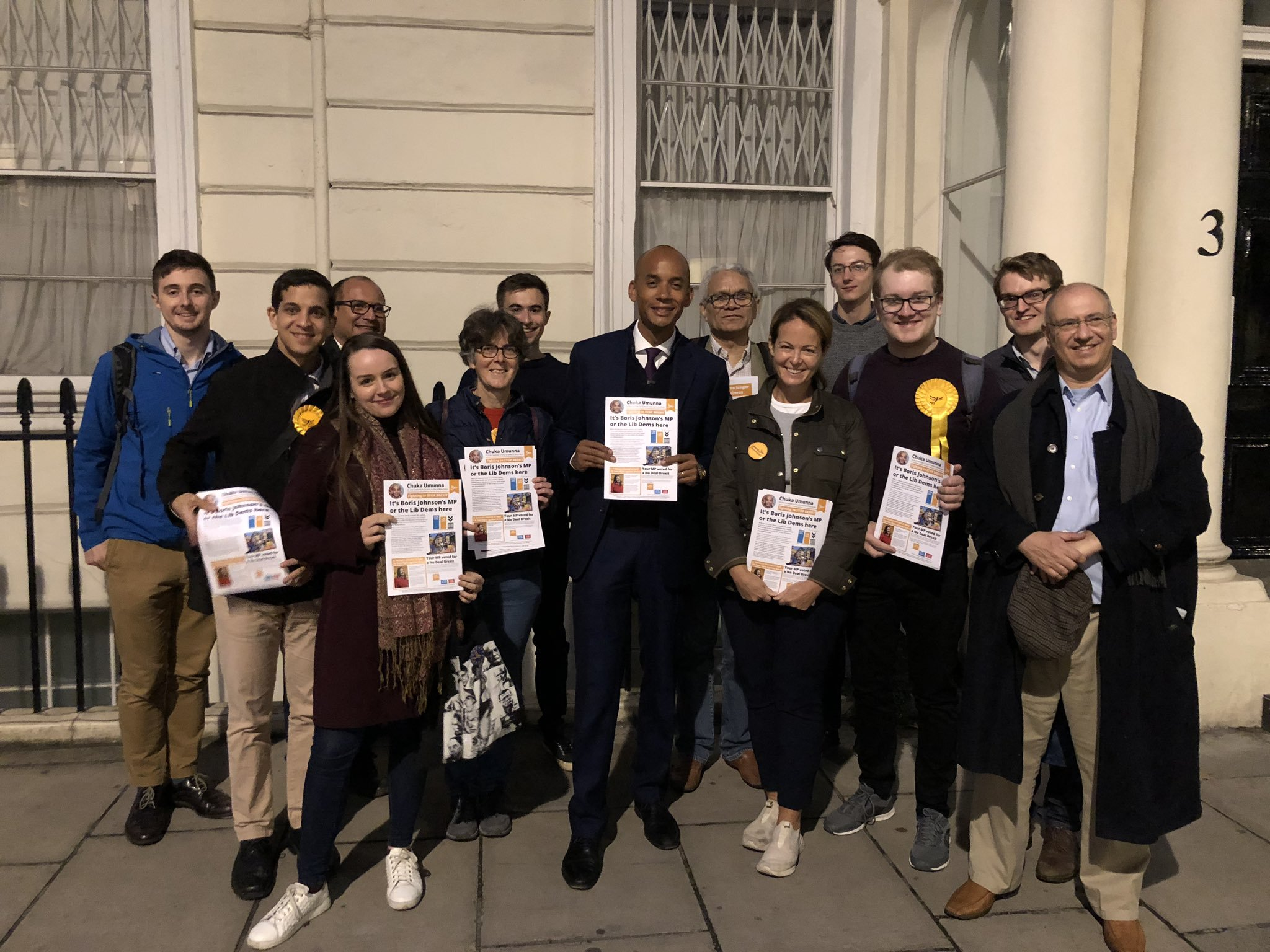 Pimlico canvassing with Chuka