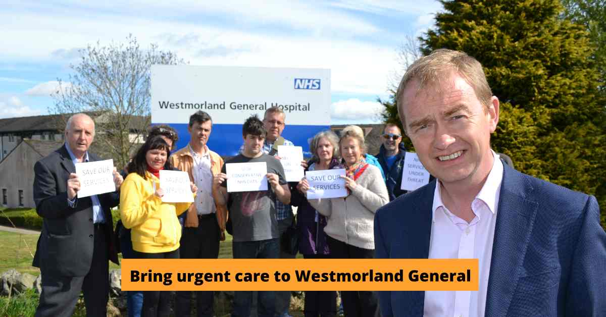 Bring urgent treatment to Westmorland General Hospital