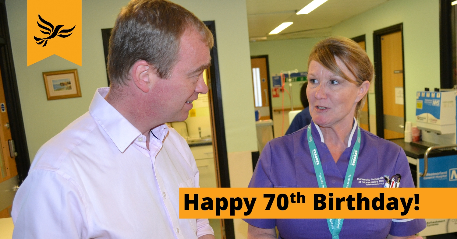 Happy 70th Birthday to the NHS
