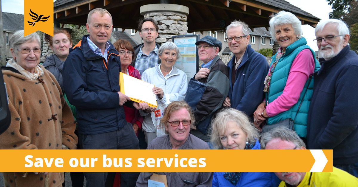 Restore funding for bus services