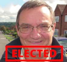 Derek Green - elected!
