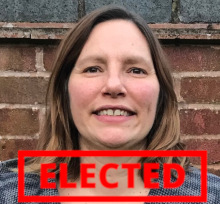 Hannah Williams - elected!