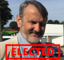 Russell Gordon-Smith - elected!