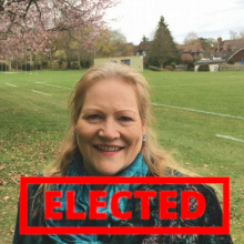 Jane Rutter - elected!
