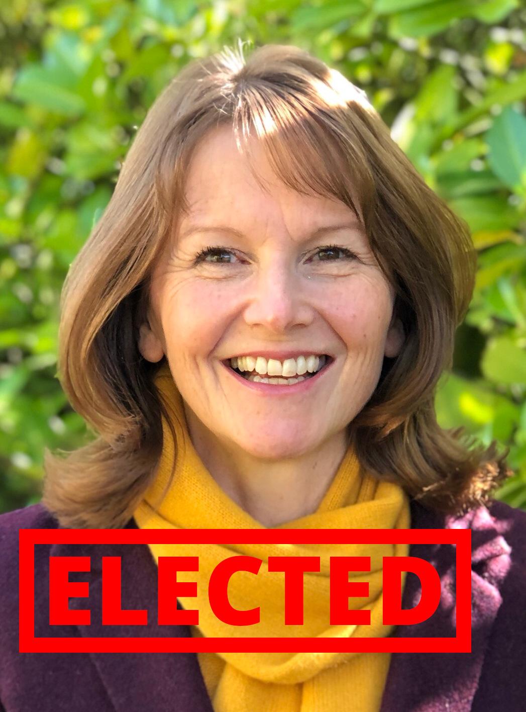 Paula Fergusen - elected!