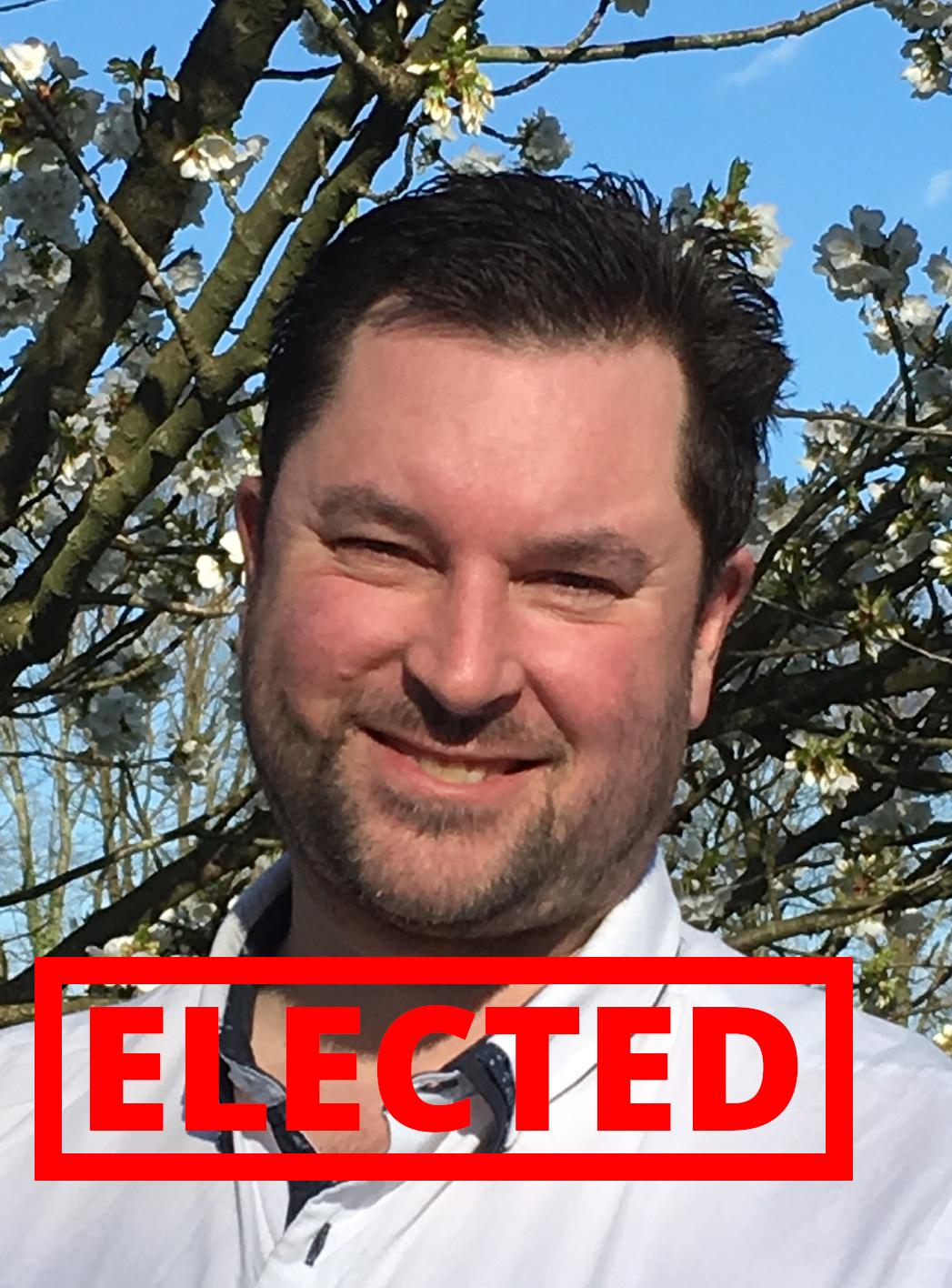 Jonathan Fern - elected!