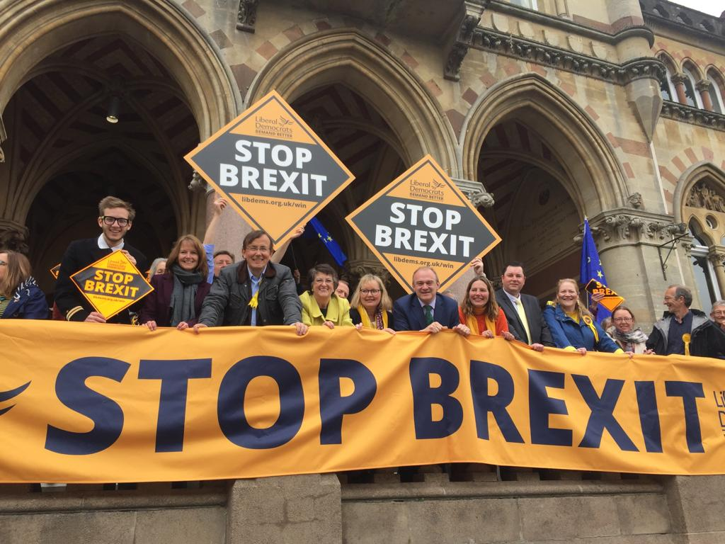 Winchester Liberal Democrats launching campaign to Stop Brexit