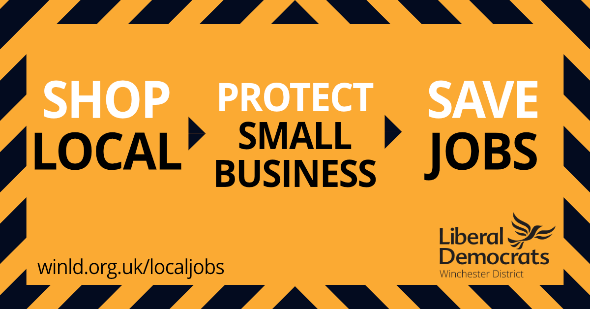 Shop local. Protect small businesses. Save jobs.
