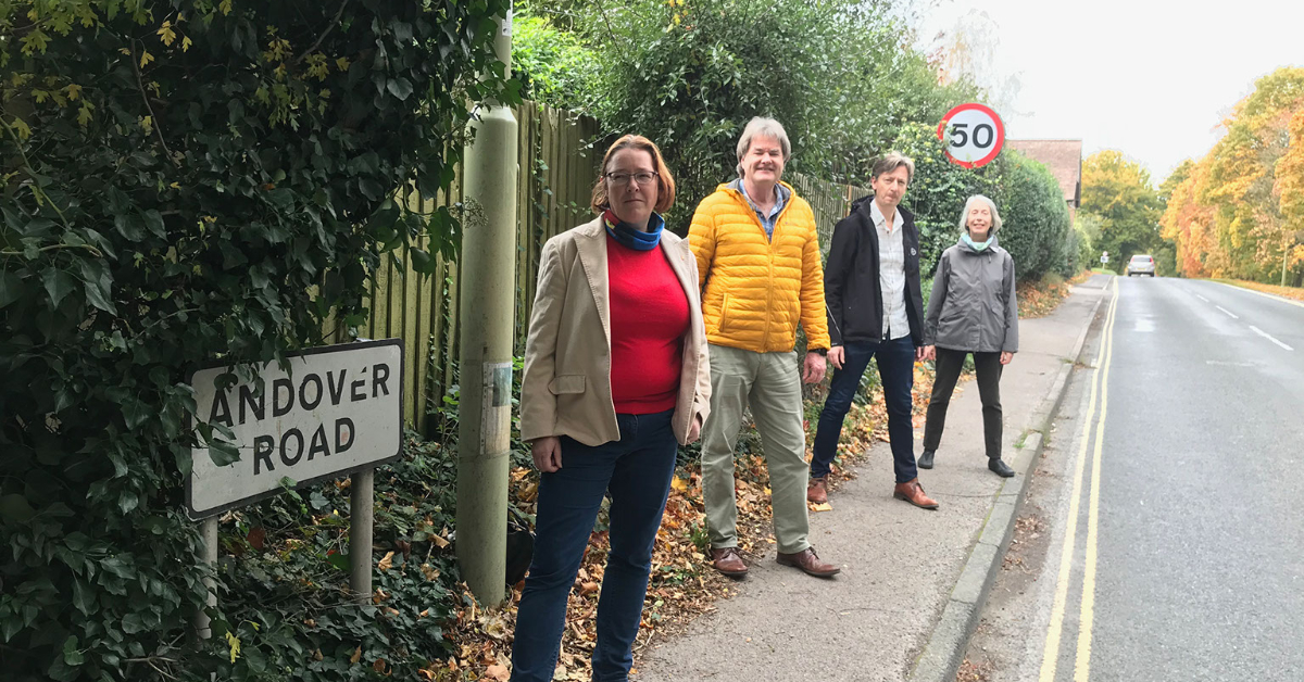 A slower, safer Andover Road