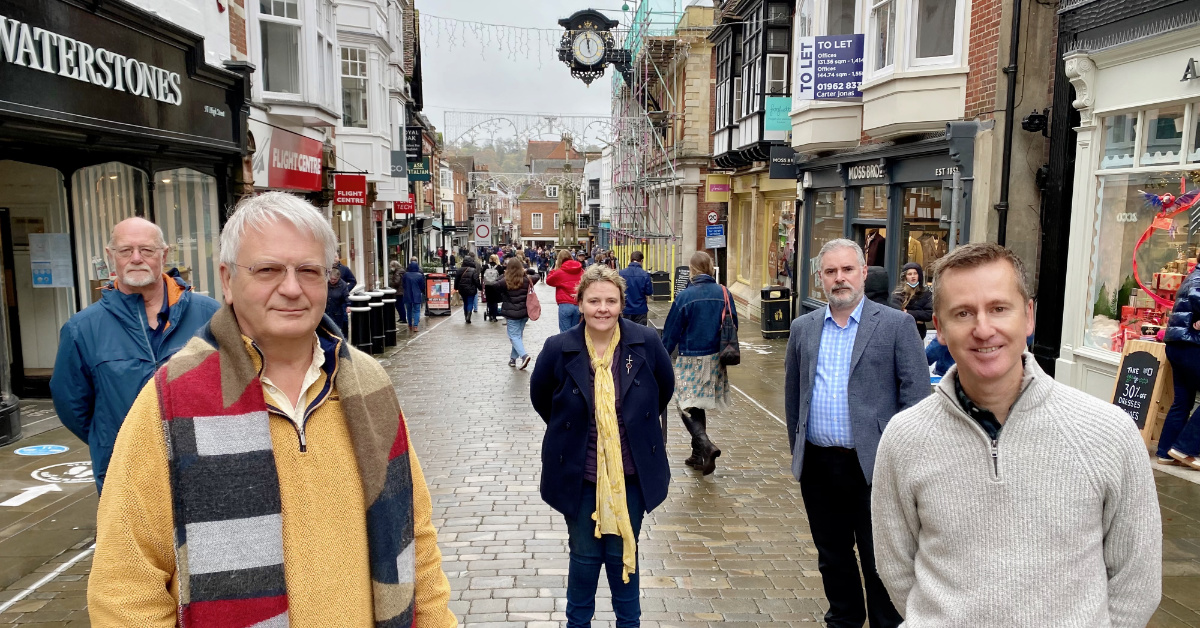 A New Plan for Central Winchester