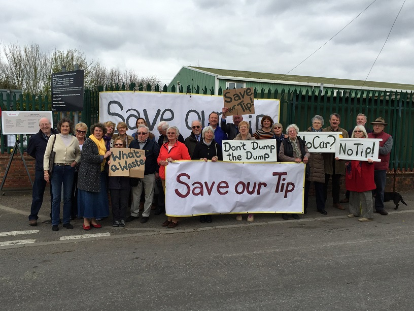 Save our tip say Lib Dem campaigners