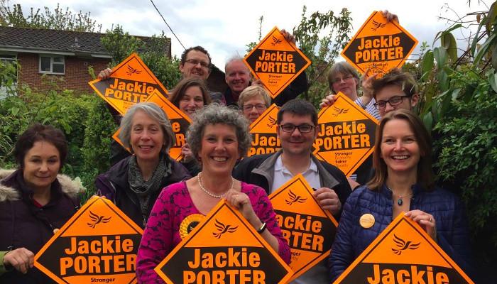 Volunteer to help Jackie Porter win!