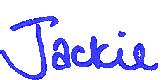 Jackie Porter's signature
