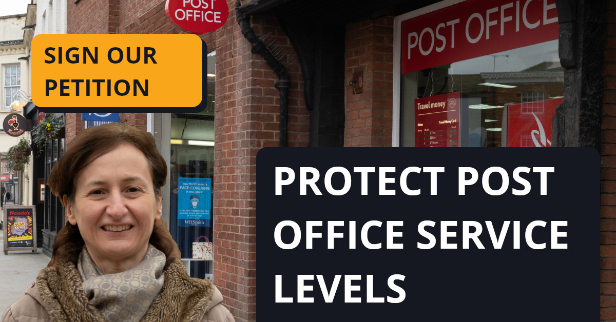 Protect Post Office Service Levels