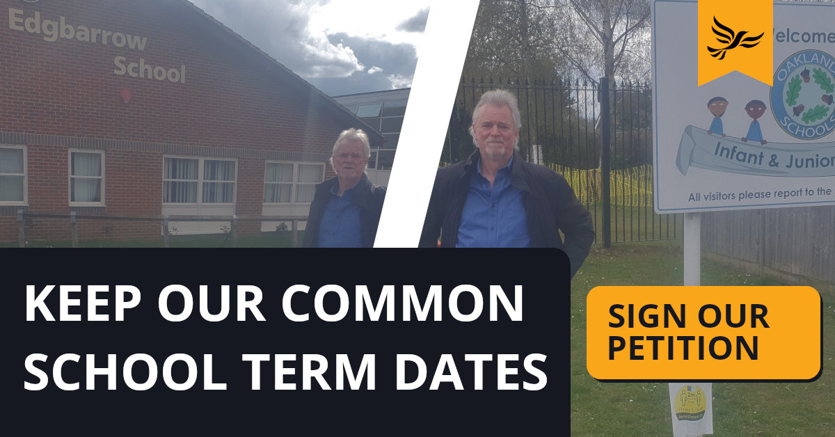 Keep Our Common School Term Dates