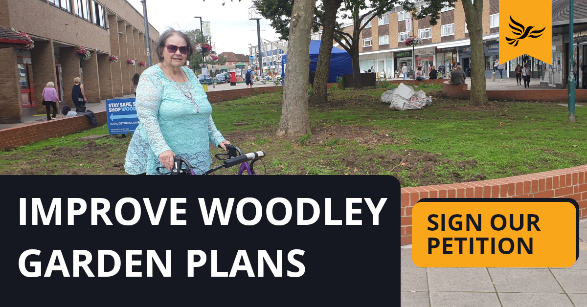 Improve Woodley Garden Plans