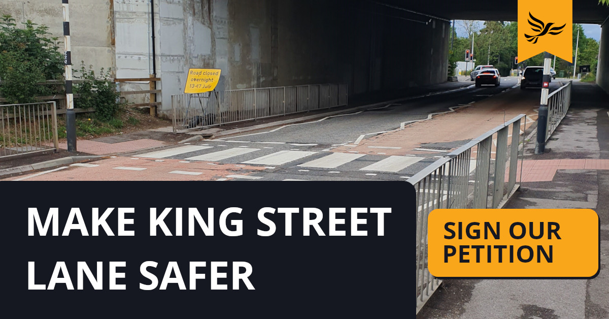 Make King Street Lane Safer