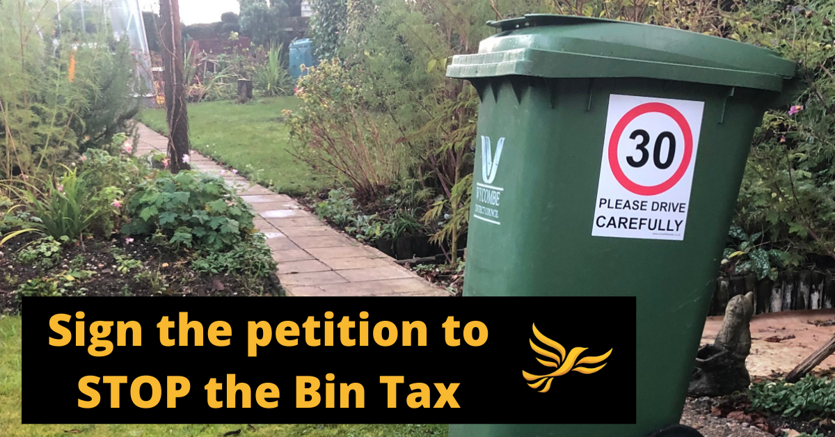 Stop The Bin Tax