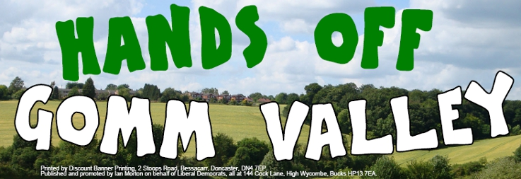 Hands Off Gomm Valley