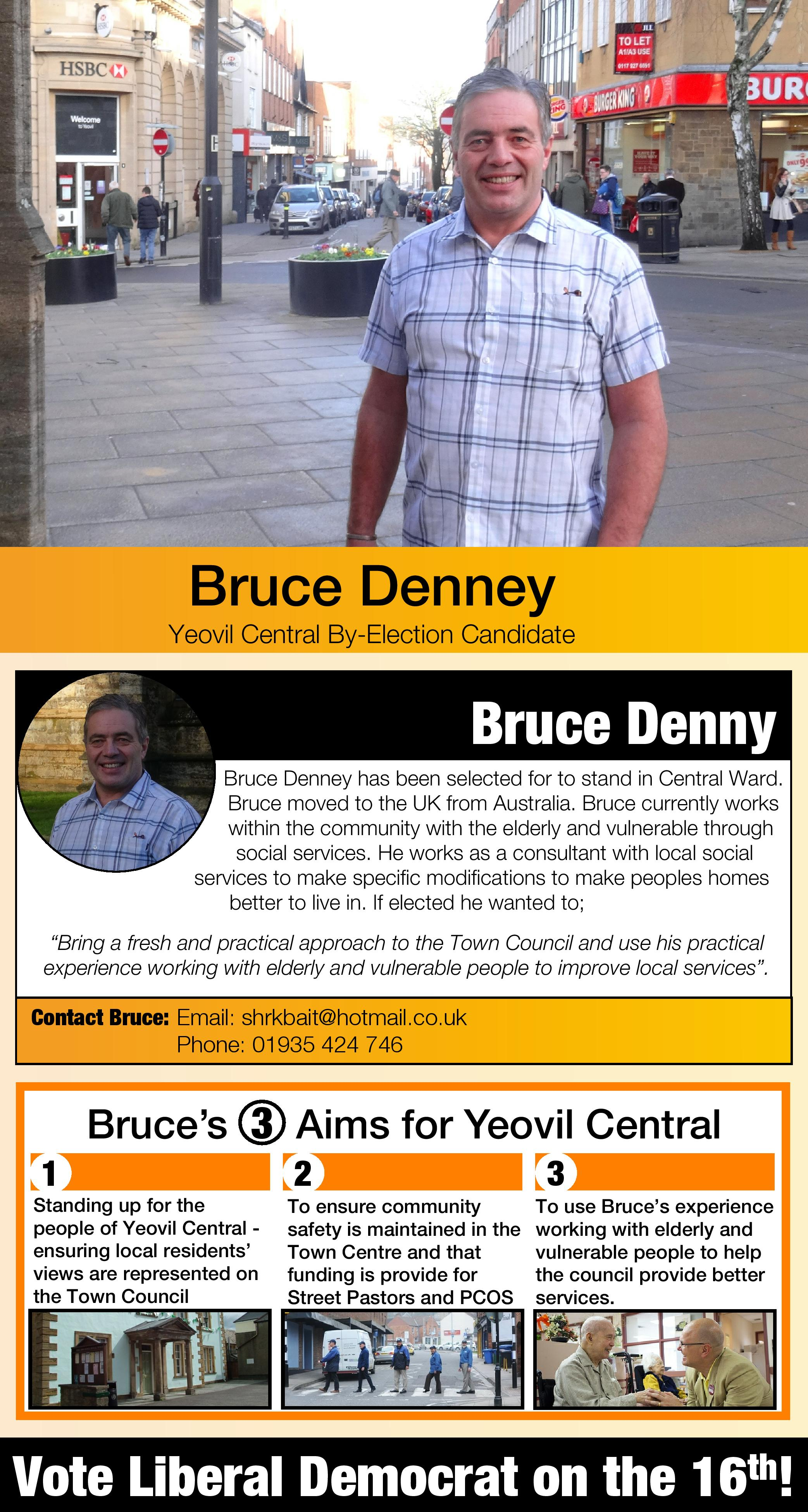 Yeovil Central Candidate