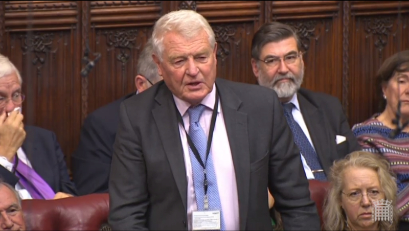Lord Ashdown presses for answers in Parliament on the Government's Industrial Strategy