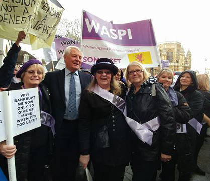 WASPI Women Score Campaign Success