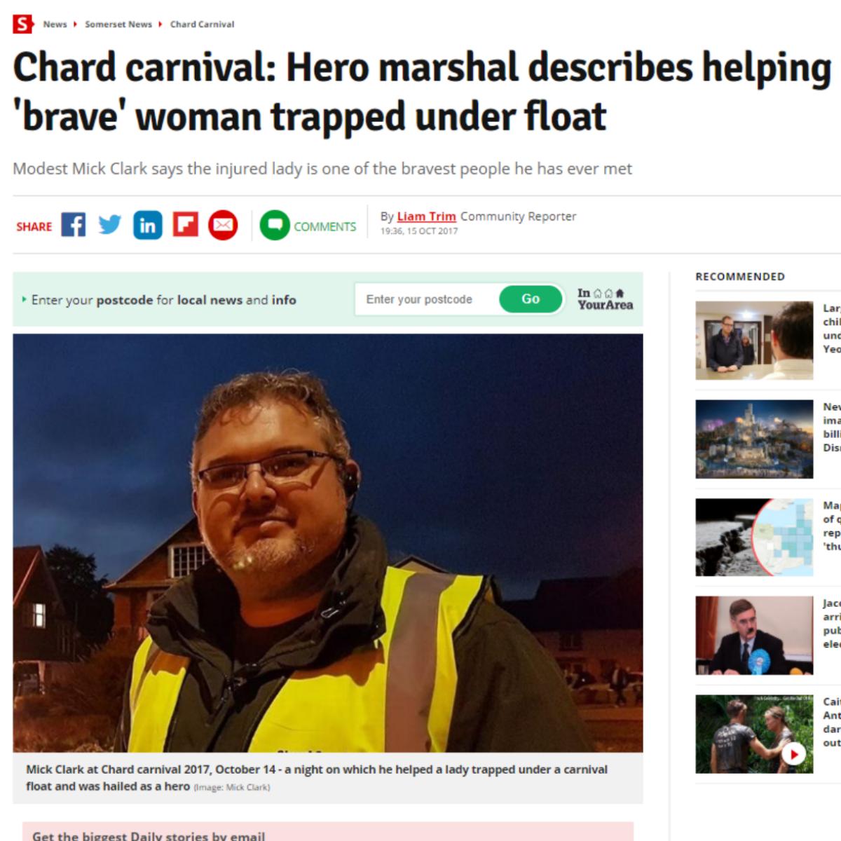 Mick Chard Carnival
