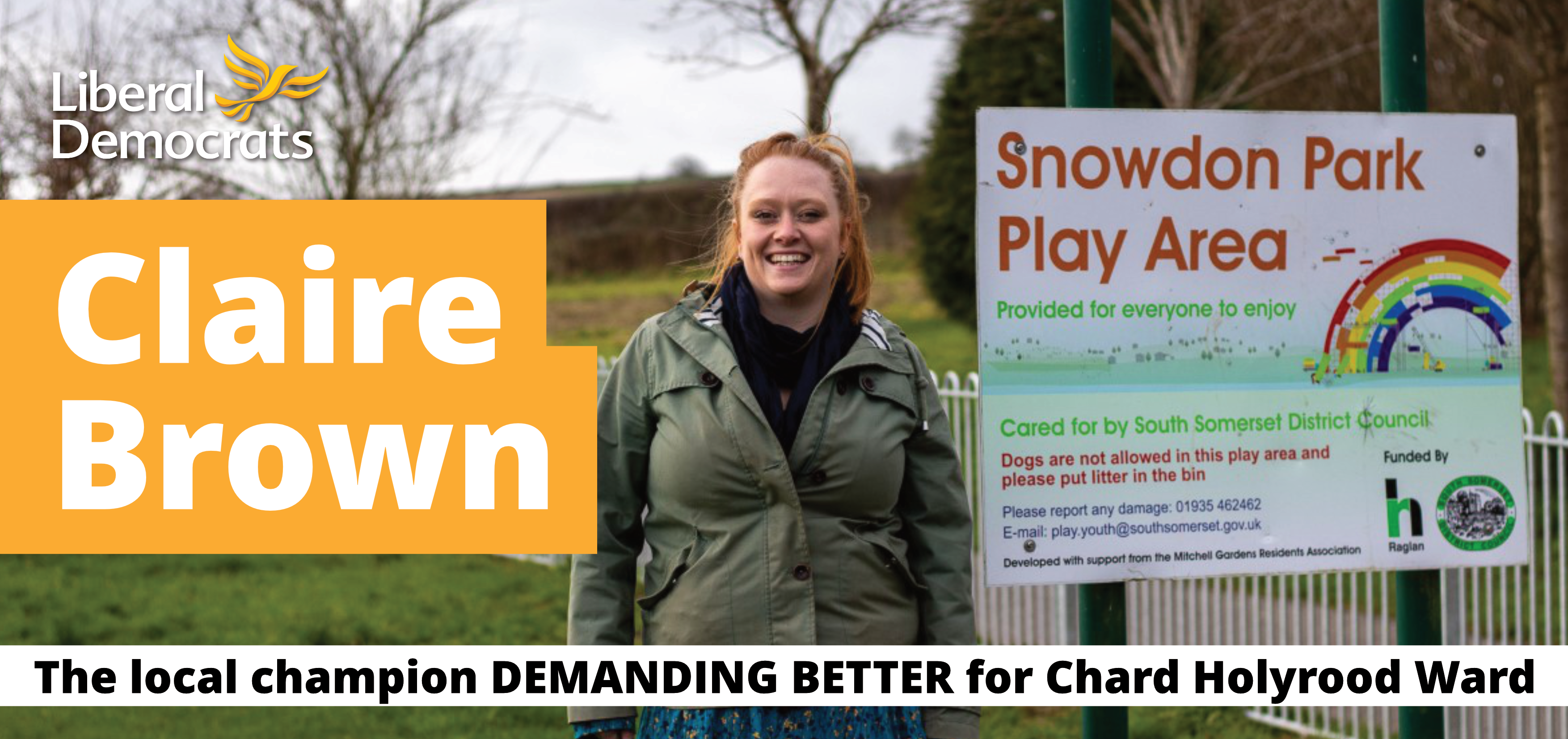 Claire Brown - The Local champion demanding better for Chard Holyrood Ward