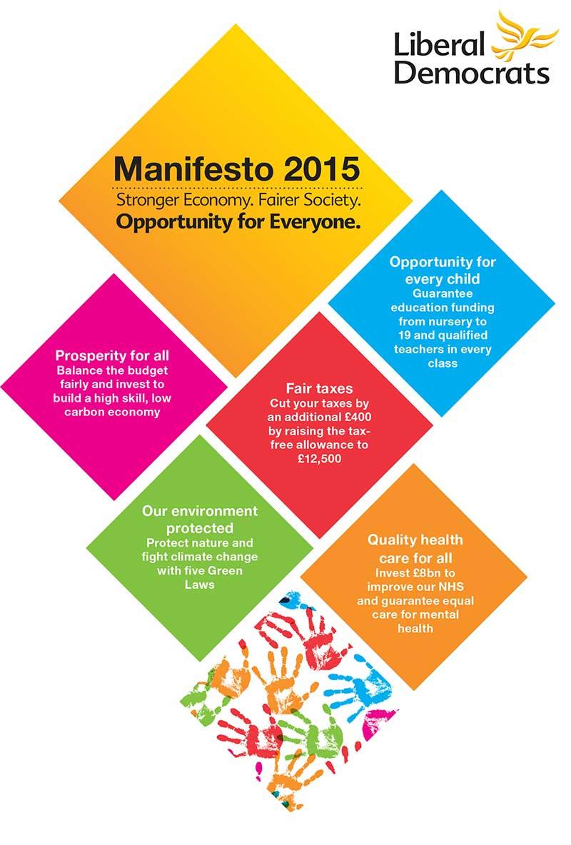 Liberal Democrat Manifesto is Released!