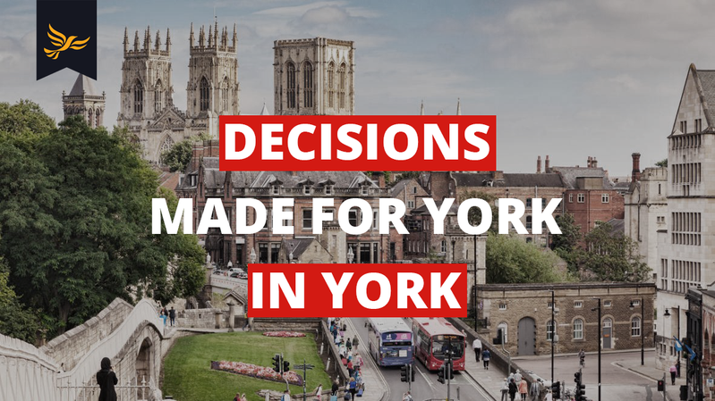 Residents, businesses and the Council Executive reject Tory plans to merge York into a 'mega-council'