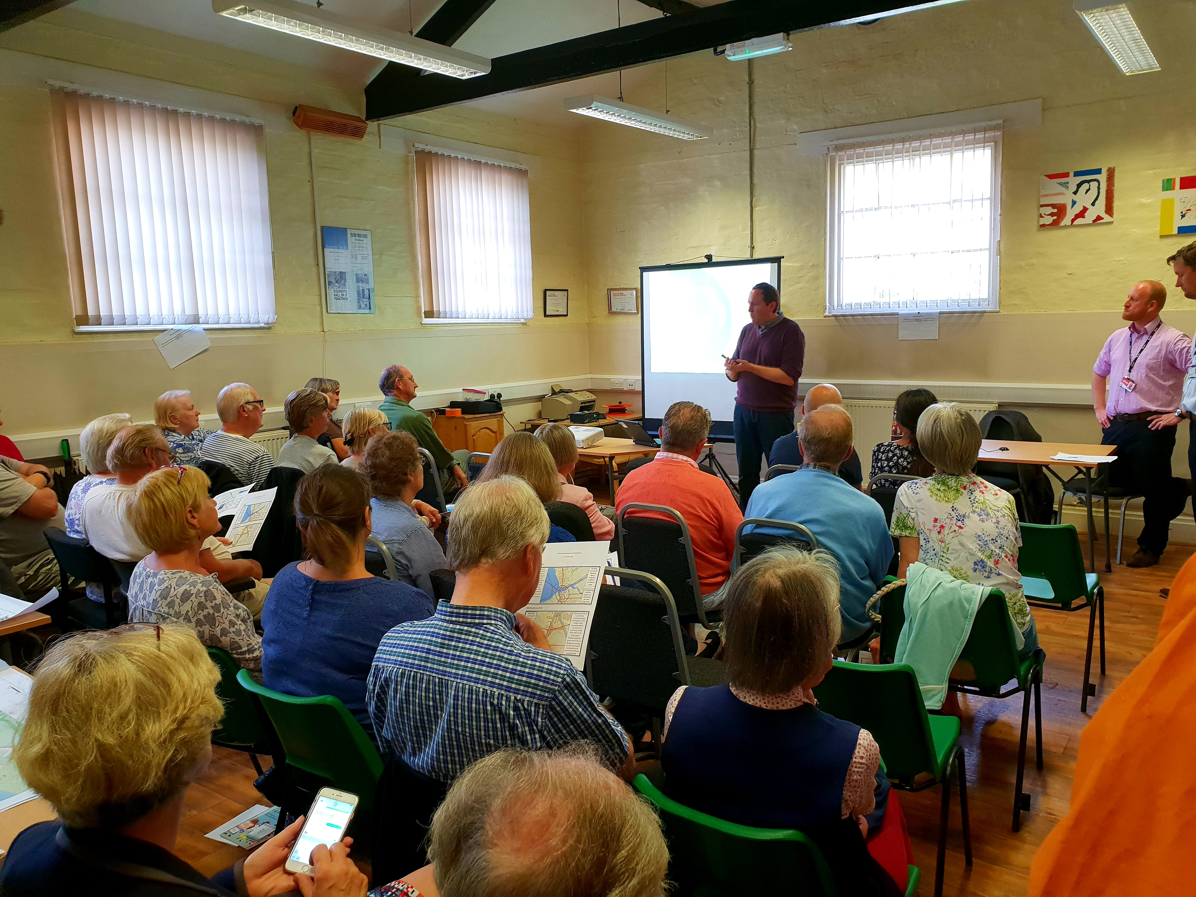 Further consultation sought at flood defence meeting in Fulford