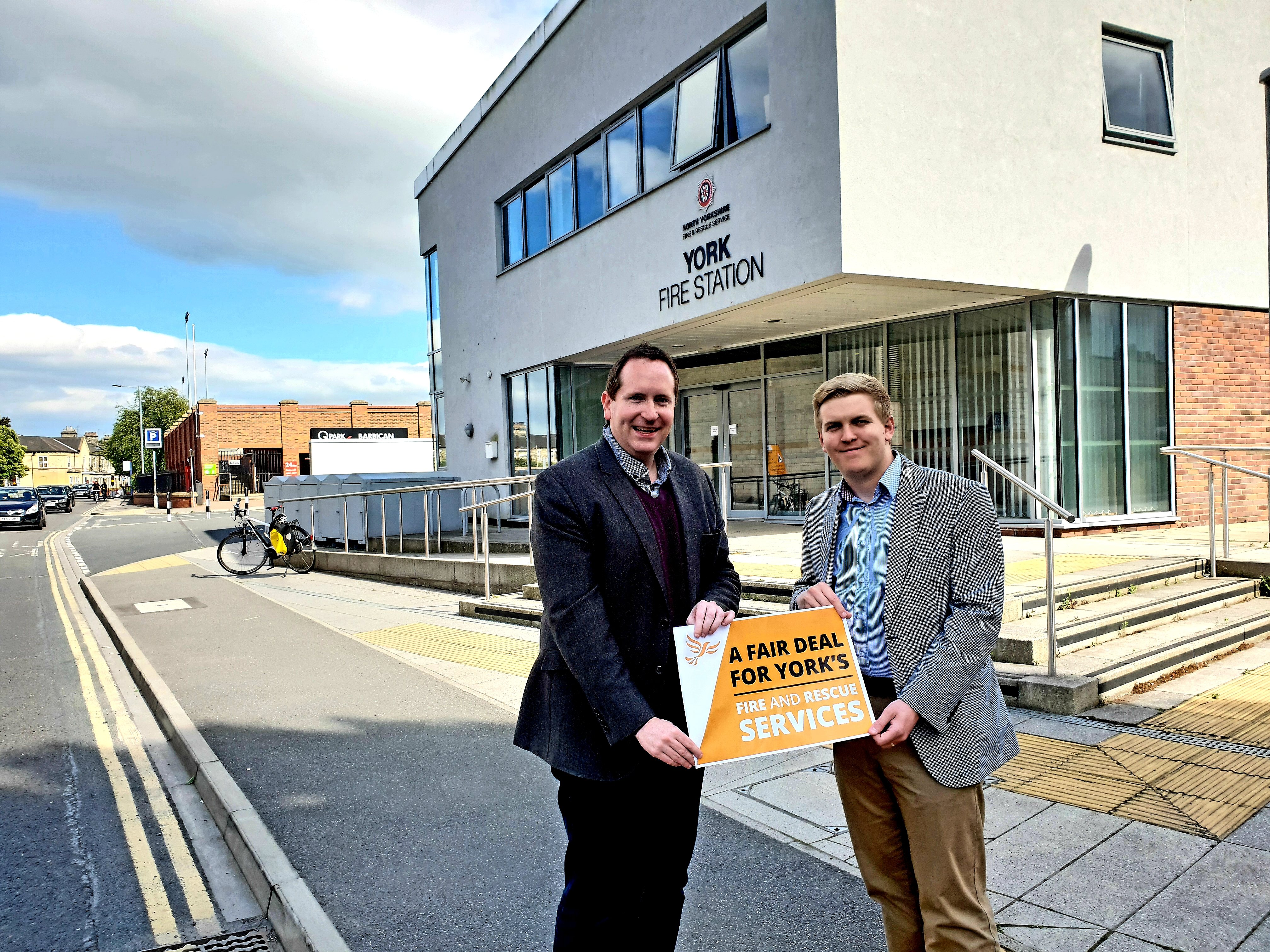 Liberal Democrats seek commitments on York's Police and Fire & Rescue Services