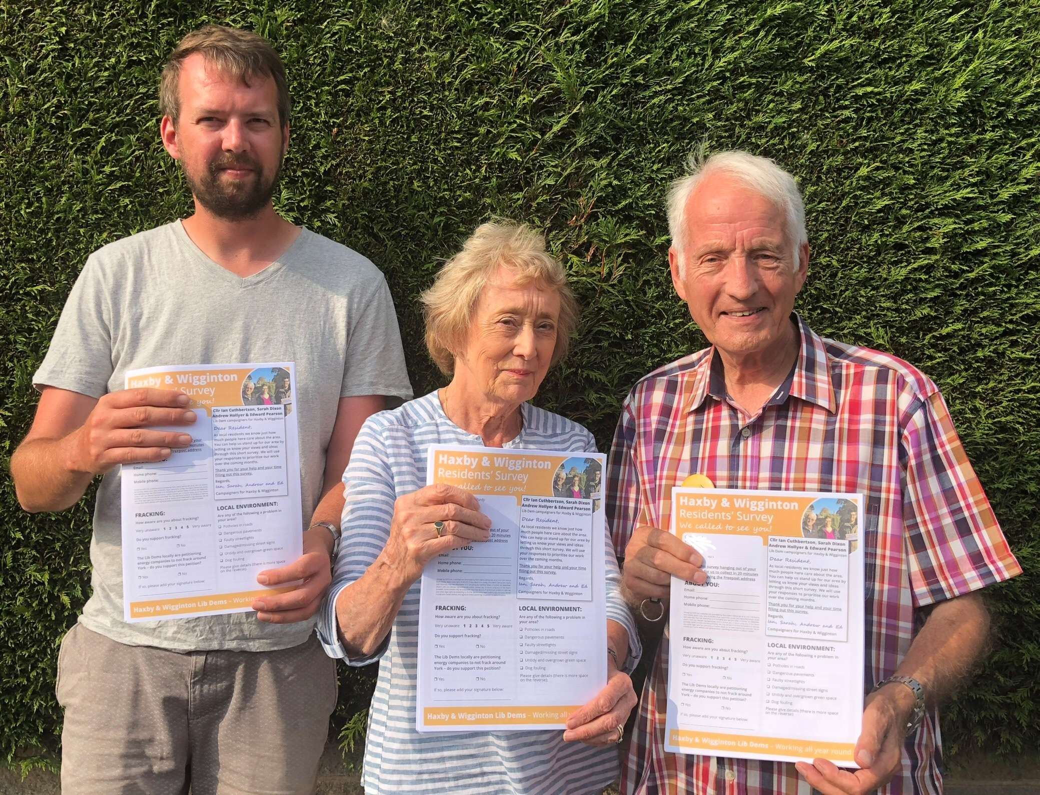 Liberal Democrats launch Haxby & Wigginton fracking petition