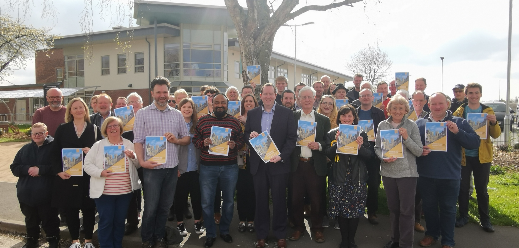 Liberal Democrats launch upcoming election Manifesto; Working for You, Working for York