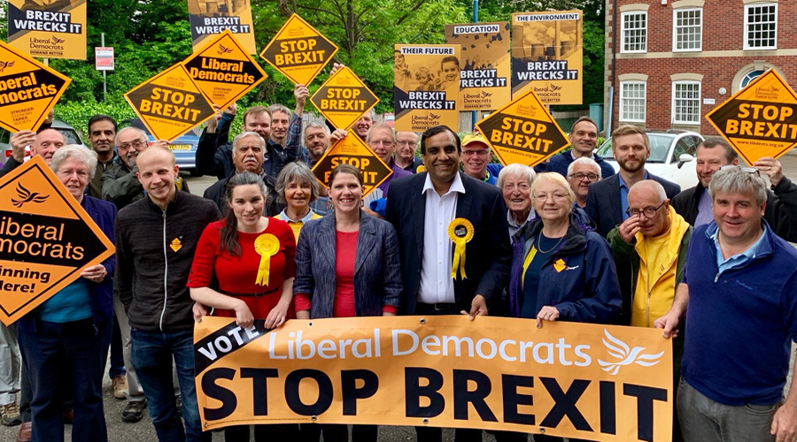 Climate Change, the Lib Dems and the European elections