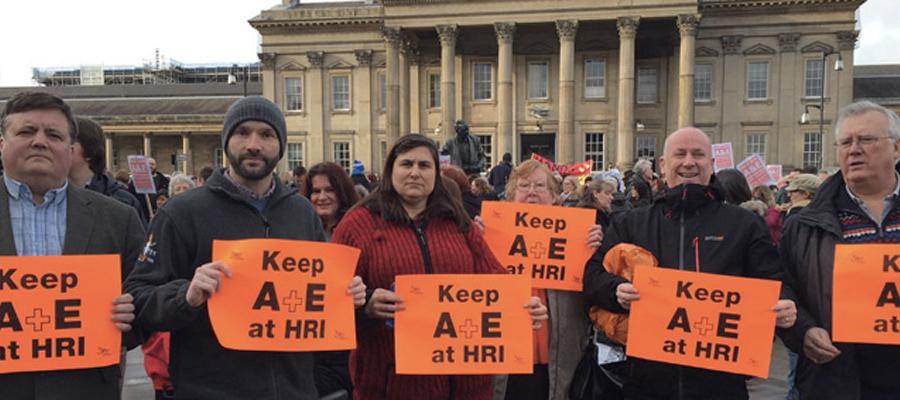 Kirklees Lib Dems fighting to keep A&E at Huddersfield Royal Infirmary