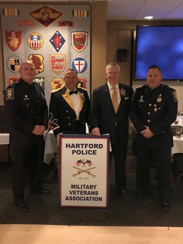 Hartford CT Police Veterans Dinner