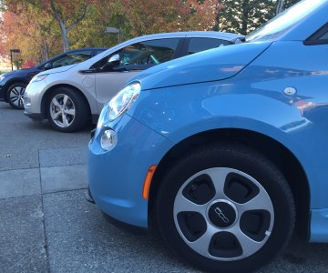 Electric vehicles can be found through out Sonoma County.