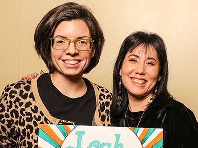 Niki Ashton and Leah Gazan