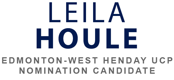 Leila Houle for Edmonton-West Henday