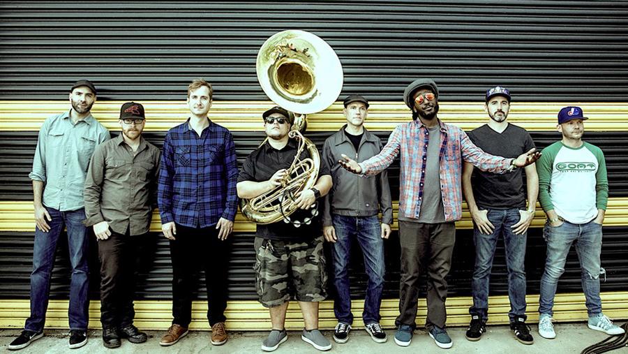Lowdown Brass Band - Levitt AMP Your City Music Series 2018