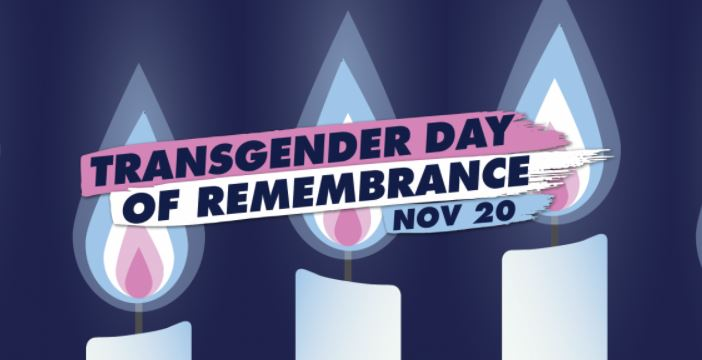 Transgender Day of Remembrance Candles
