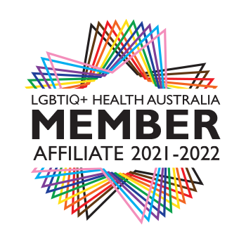This website is run by a member of LGBTIQ+ Health Australia, click to verify.