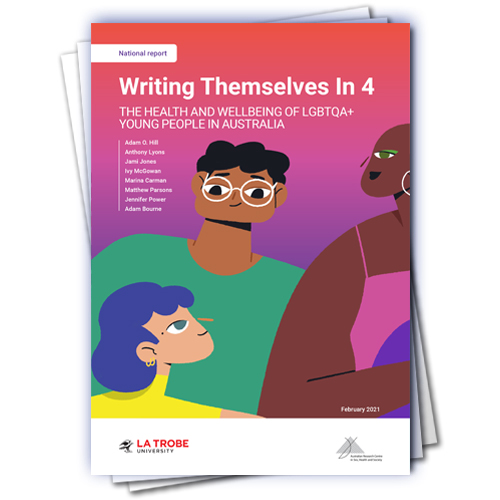 Cover of Writing Themselves In