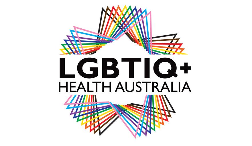 LGBTIQ+ Health Logo