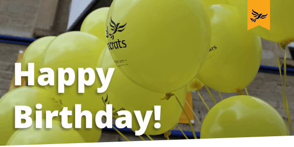 Join us in celebrating the 30th Birthday to the Liberal Democrats!